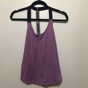 Nike purple workout tank top